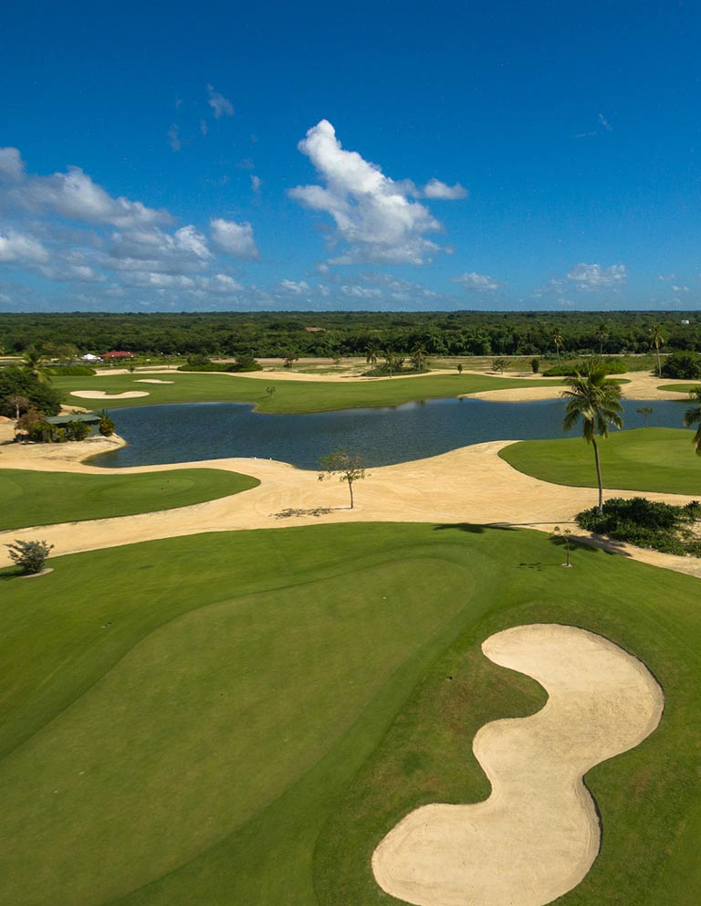 Hole 7 - 9 hole course in Riviera Maya Golf Club